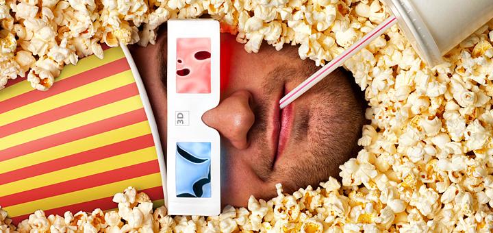 Почему мы едим попкорн в кино?