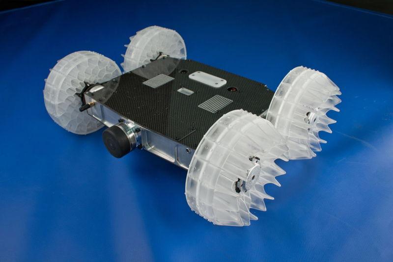 Интересное видео робот-блоха
