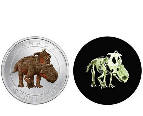 факты о деньгах - канадская монета