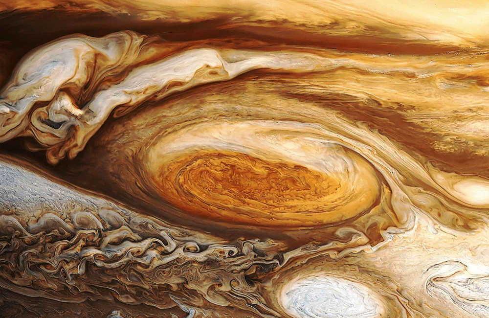 интересные факты о космосе - юпитер