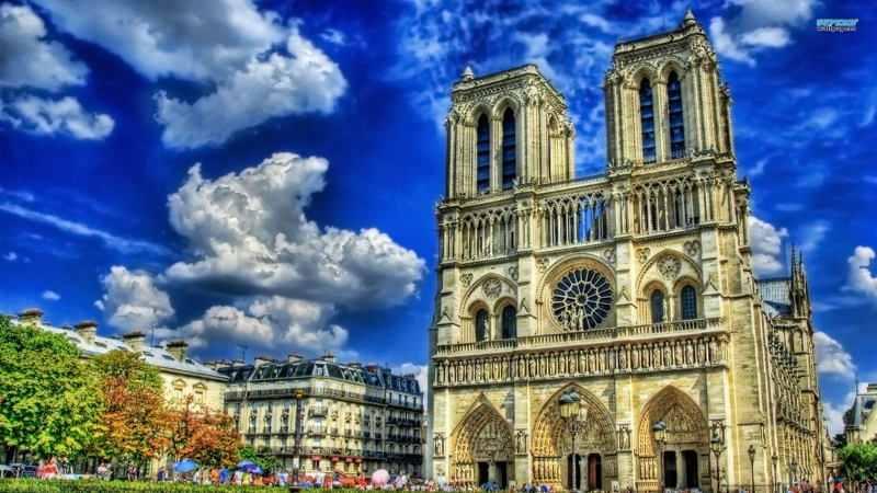 интересные факты о франции - Нотр Дам де Пари