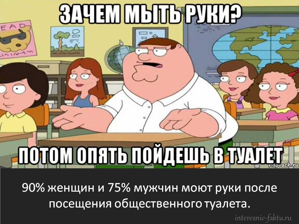 Факты: мужчины и женщины