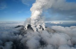 19 мая вулкану Хаконэ присвоили 2 уровень опасности